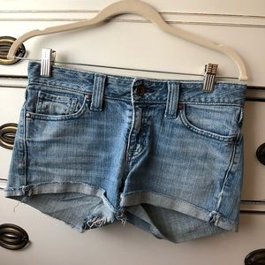 Gap Light-Wash Jean Shorts